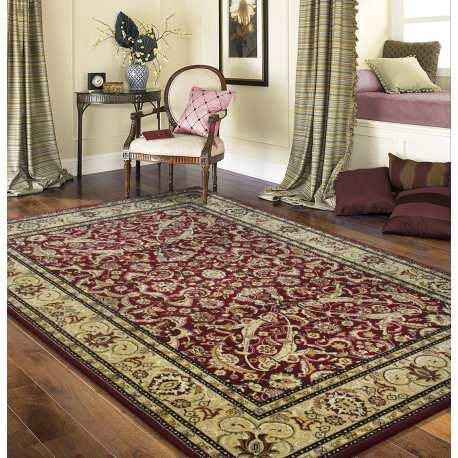 b03f315d95c9cb Dywan klasyczny Royal 02 - bordowy - Homecarpets