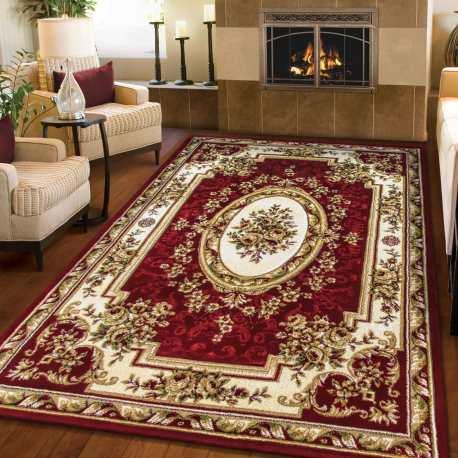 Dywan Wycinany Carving 06 Bordowy Homecarpets