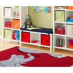 Dywan Kids Lux 02 - czerwony