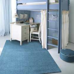 Dywan Porto jednolity niebieski