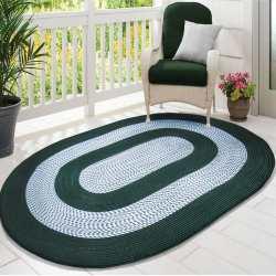 Dywan sznurkowy Master owalny - zielony