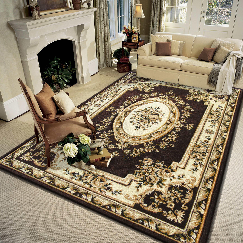 Dywan Wycinany Carving 06 Brązowy Homecarpets