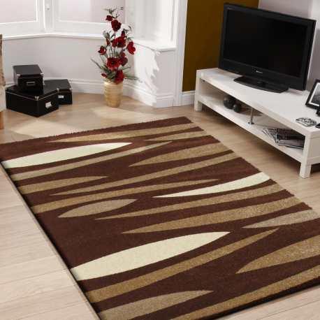 Dywan do pokoju nowoczesny Fashion 01 brązowy