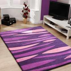 Dywan pokojowy nowoczesny Fashion 01 fioletowy