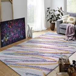 Dywan Kwiaty Akrylowy Do Salonu I Pokoju Kolorowy King 01