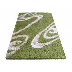 Dywan shaggy 05 zielony