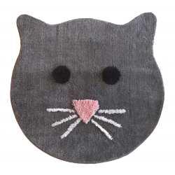 Dywanik pluszowy koło 90cm kot