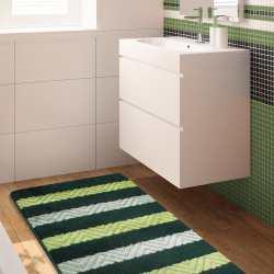 Komplet łazienkowy Monti 02 zielony antypoślizgowy