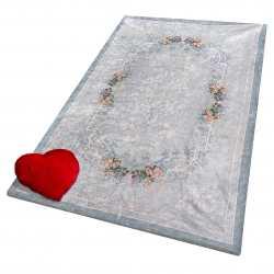 Pokrowiec na dywan 01 niebieski