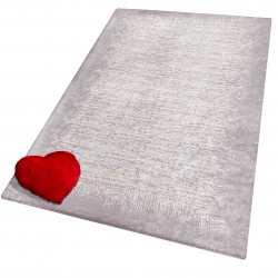 Pokrowiec na dywan 02 pudrowy różowy