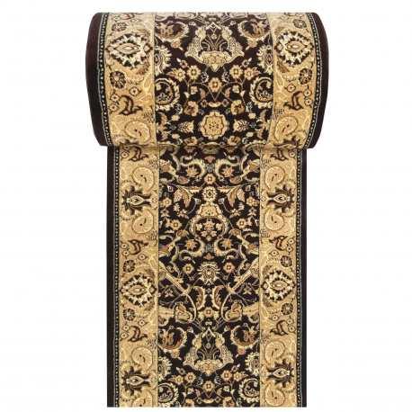 Chodnik dywanowy Royal 02 - brązowy - szerokość od 60 do 120 cm