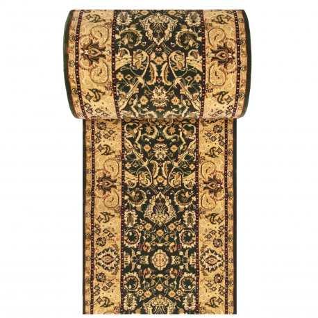 Chodnik dywanowy Royal 02 - zielony - szerokość od 60 do 120 cm