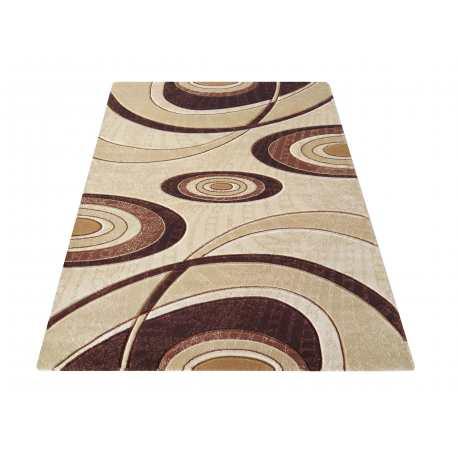 Dywan Wycinany Carving 11 Brązowy Homecarpets
