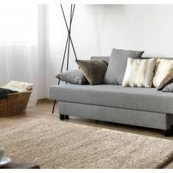 Dywan shaggy comfort soft kremowy do pokoju, salonu