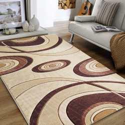 Dywan pokojowy Carving 11 - brązowy