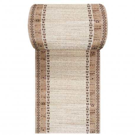 Chodnik dywanowy Fashion 05 - beżowy - szerokość od 60 do 120 cm