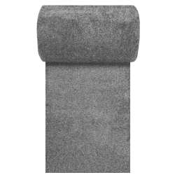 Chodnik dywanowy ciemny szary Mondo szerokość od 70 do 120 cm