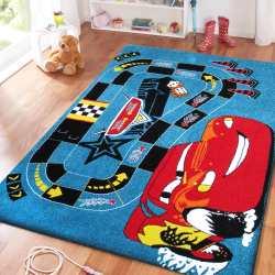 Dywan dla dzieci samochody Mon 06 niebieski