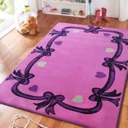 Dywan dla dzieci Smyk 16 - różowy