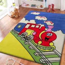 Dywan dla dzieci Smyk 07 - niebieski