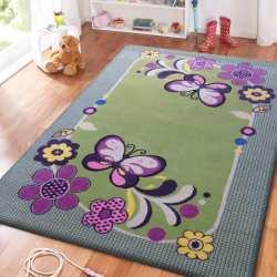 Dywan dla dzieci Smyk 14 - zielony