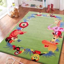 Dywan dla dzieci Kids 12 - zielony