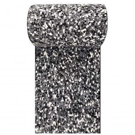 Chodnik dywanowy Iraz 01 - szary - szerokość od 70 do 100 cm