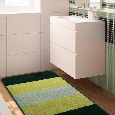 Komplet łazienkowy Monti 03N zielony antypoślizgowy