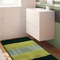 Komplet łazienkowy Monti 04N zielony antypoślizgowy