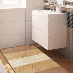 Komplet łazienkowy Monti 01 beżowy antypoślizgowy