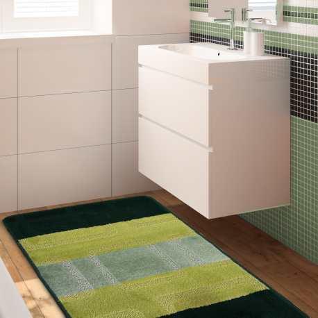 Komplet łazienkowy Monti 01 brązowy antypoślizgowy