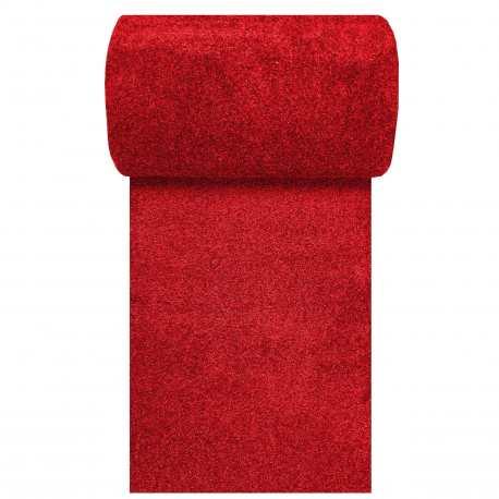 Chodnik dywanowy czerwony Porto N szerokość od 80 do 120 cm