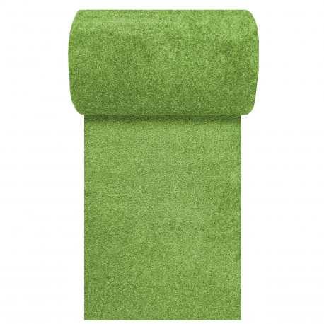 Chodnik dywanowy zielony Porto N szerokość od 80 do 120 cm