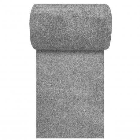 Chodnik dywanowy szary Porto N szerokość od 80 do 120 cm