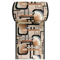 Chodnik dywanowy BCF ALFADA 16 - zielony - szerokość 100 cm