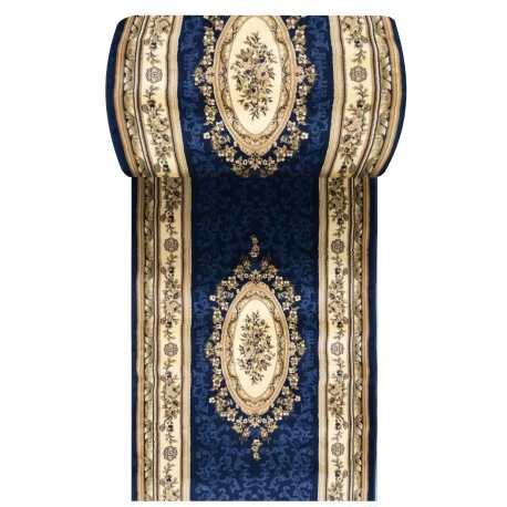 Chodnik dywanowy Royal 04 - granatowy - szerokość 100 cm