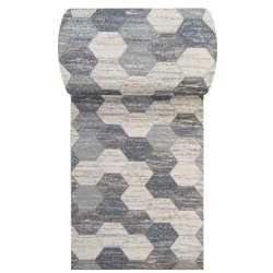 Chodnik dywanowy VIZA 02 - szary - szerokość od 60 cm do 120 cm