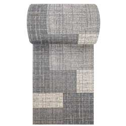 Chodnik dywanowy VIZA 03 - szary - szerokość od 60 cm do 120 cm