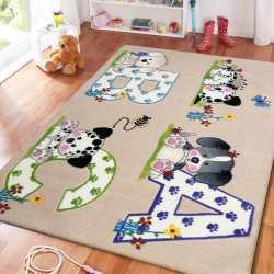 Dywan dla dzieci Animals 06 pieski