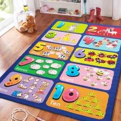 Dywan dla dzieci Mini Kids 03 liczby