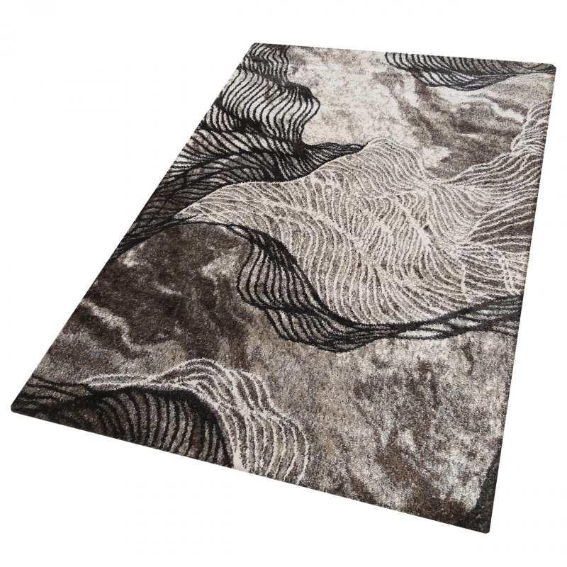 dywan brązowy nowoczesny