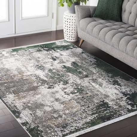 dywan antyposlizgowy nowoczesnyn nevada 23 zielony