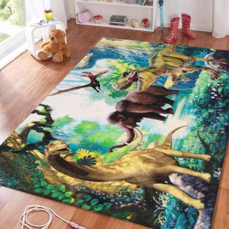 Dywan dla dzieci Mini Kids 13 dinozaury