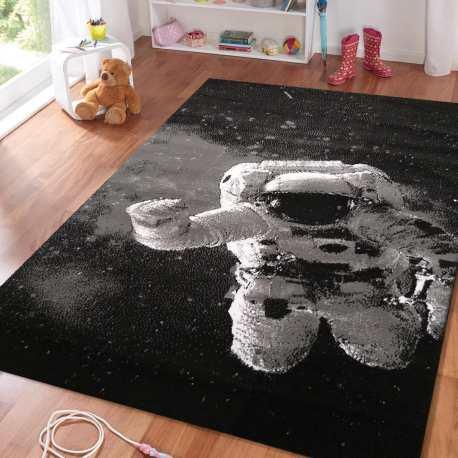 Dywan dziecięcy Sala 24 astronauta czarny