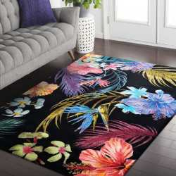 Dywan nowoczesny Flores 02 kwiaty kolorowy