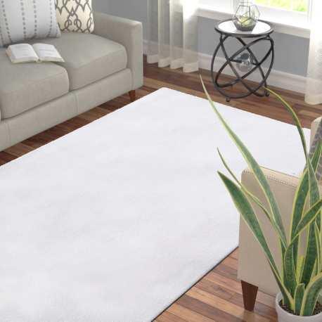 Dywan nowoczesny miękki Kolorado biały