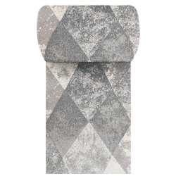 Chodnik dywanowy VIZA 05 - szary - szerokość od 60 cm do 120 cm